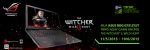 Tặng ngay thẻ Game The Witcher III khi mua laptop Gaming Asus