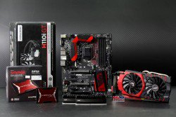 BỘ COMBO SET GAMING DRAGON - BLACK AND RED PRO II
