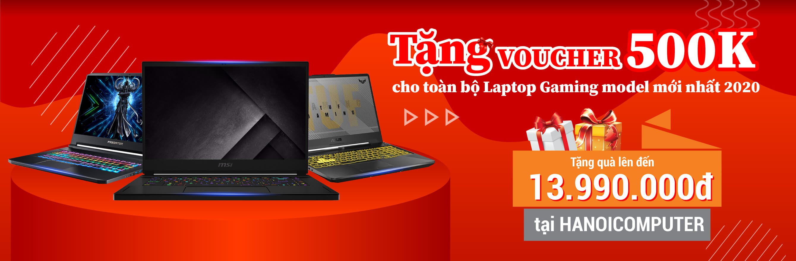 Voucher 500K Laptop Gaming