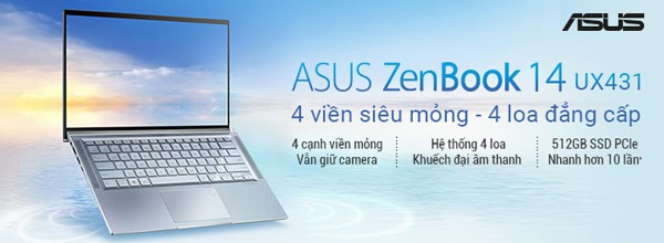 Laptop Asus UX431