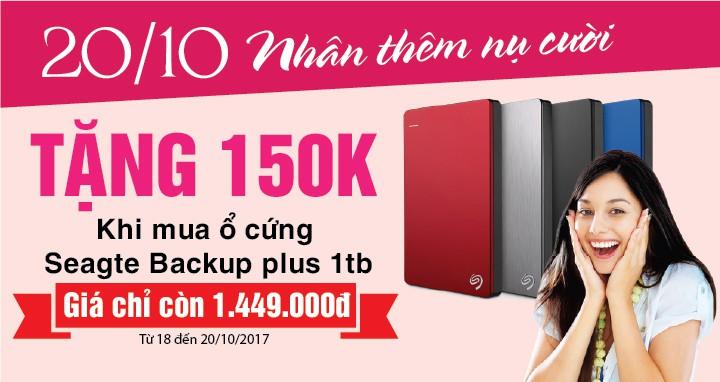 TẶNG 150K KHI MUA HDD SEAGATE