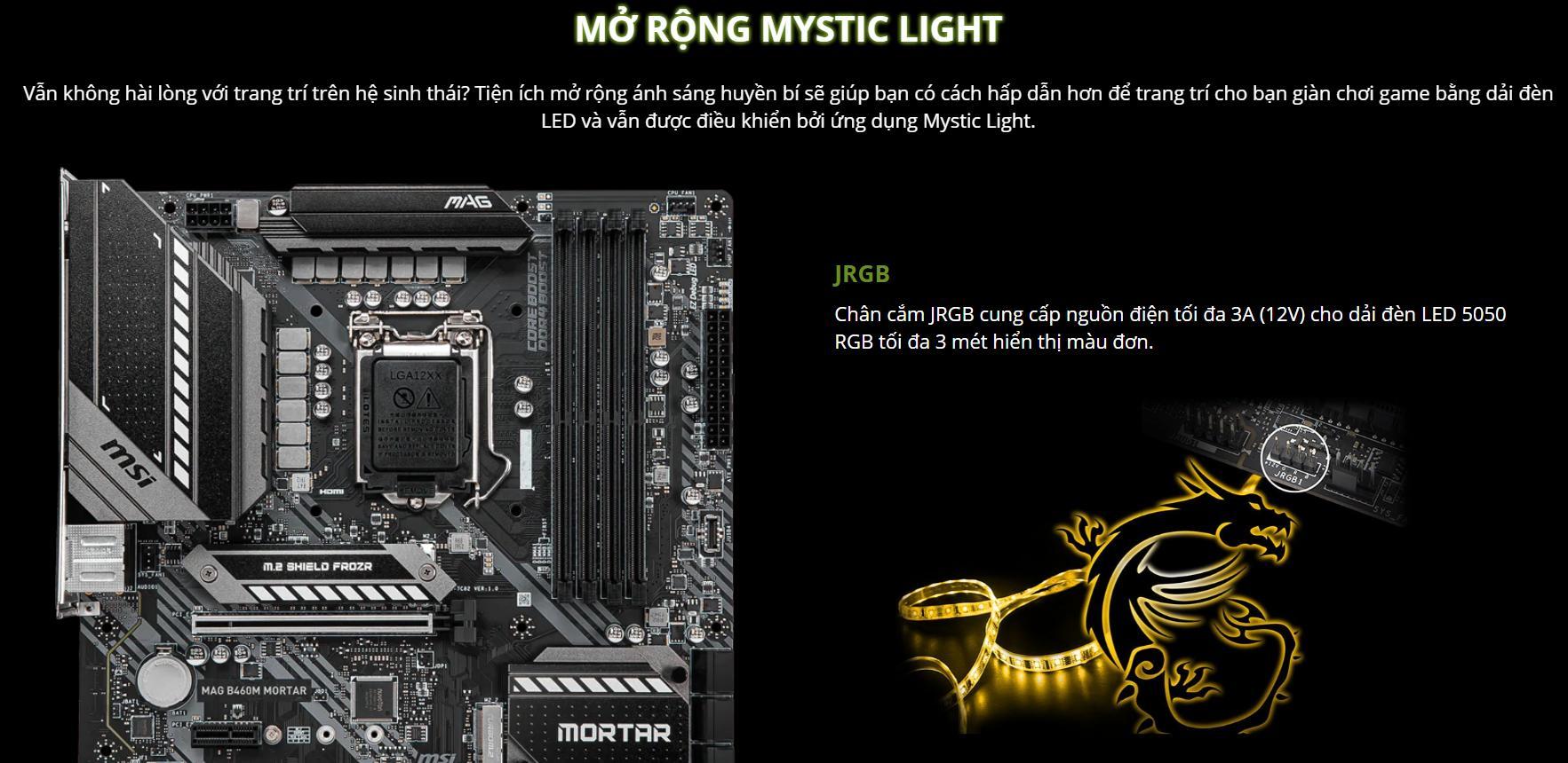 Mainboard MSI MAG B460M MORTAR