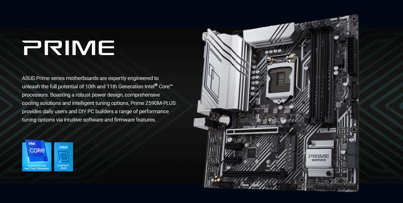 Mainboard ASUS PRIME Z590M-PLUS