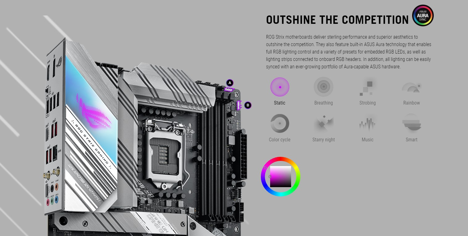 Mainboard ASUS ROG STRIX Z590-A GAMING WIFI