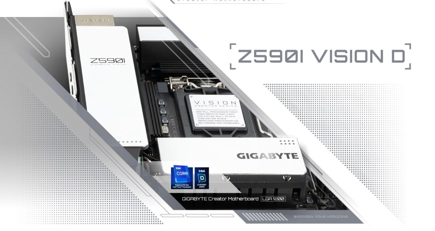 Mainboard Gigabyte Z590I VISION D