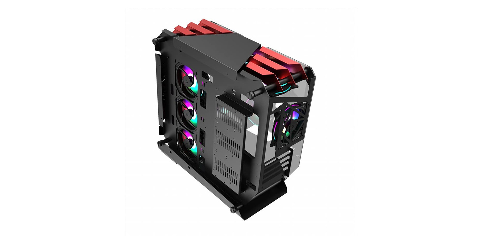 case Jonsbo U4 Black Edition (Mid Tower/Màu Đen) giới thiệu 3