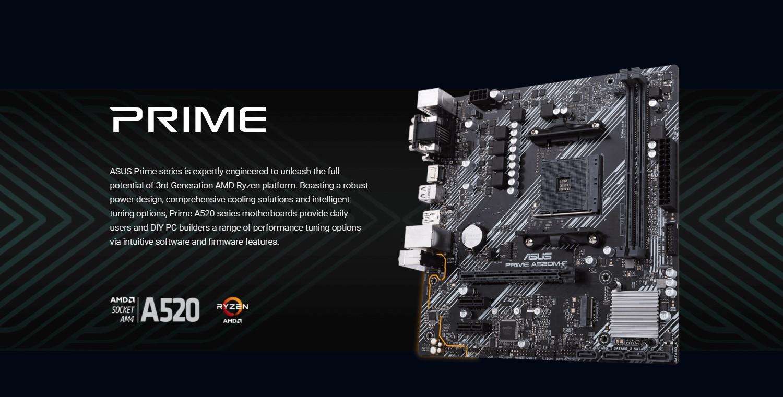 Mainboard ASUS PRIME A520M-E
