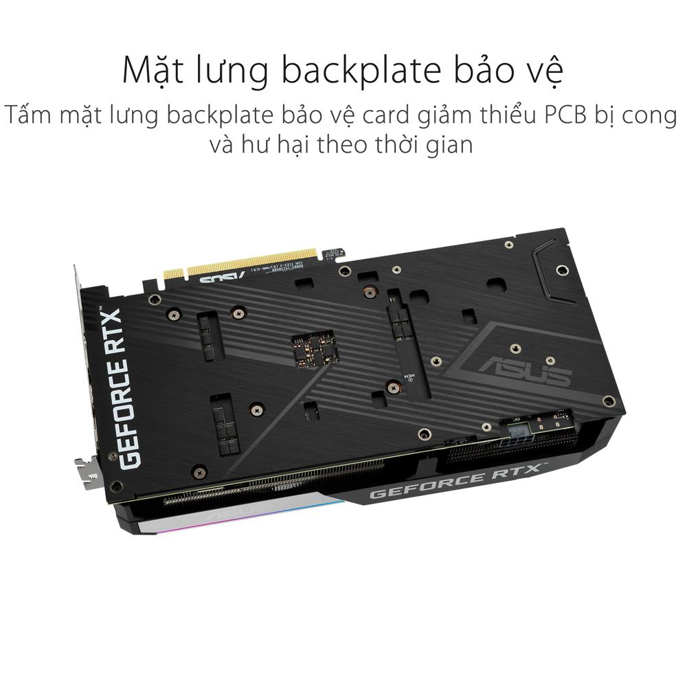 Card màn hình Asus DUAL RTX 3060 Ti-O8G