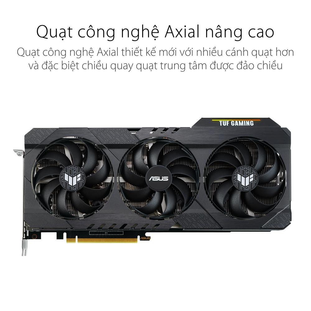 Card màn hình Asus TUF RTX 3060 Ti-O8G-GAMING