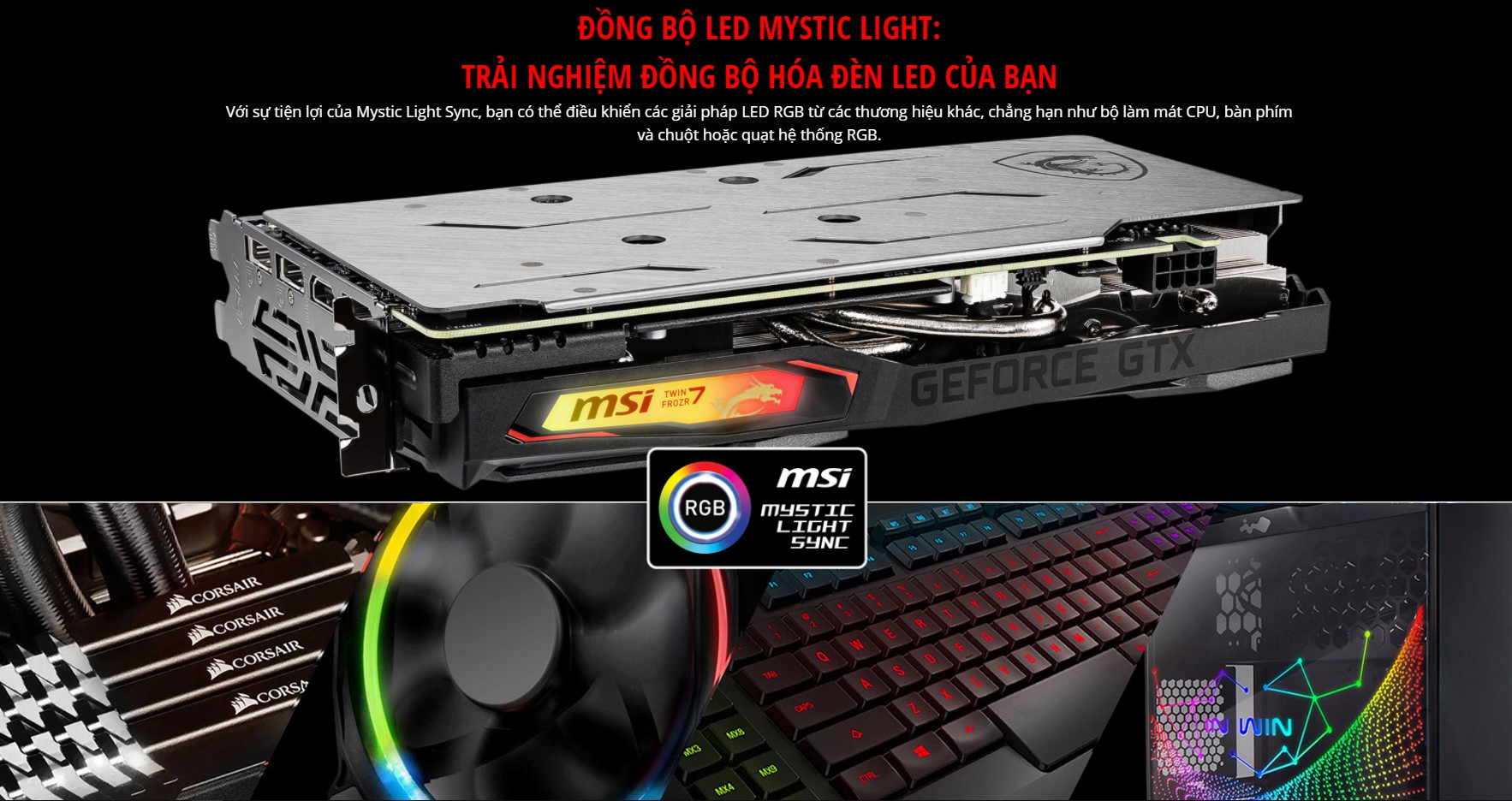 Card màn hình MSI GTX 1660 GAMING X