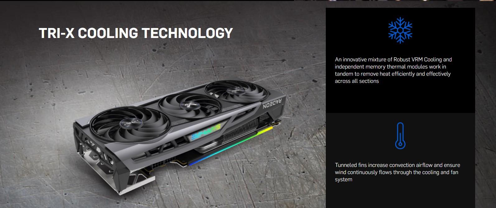 Card màn hình SAPPHIRE NITRO+ Radeon RX 6800 OC GAMING 16GB