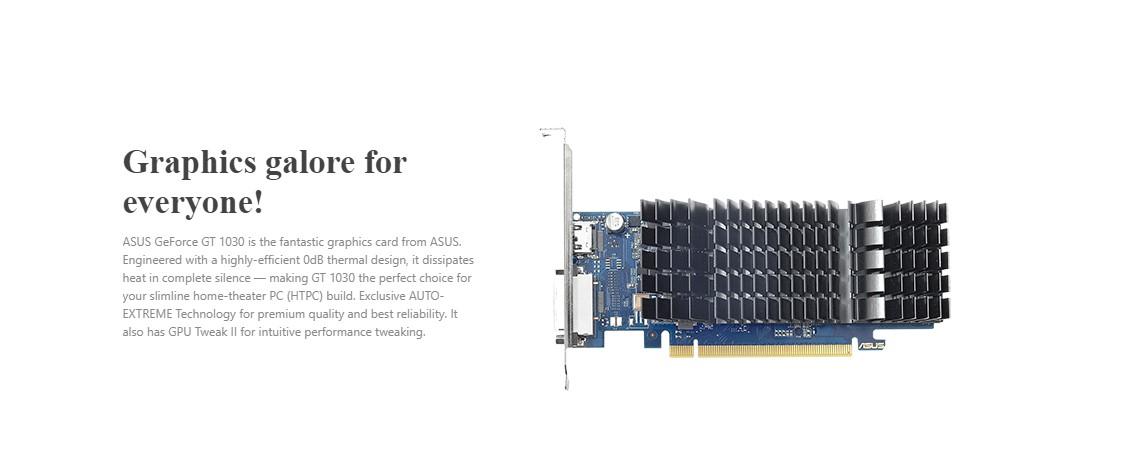 Card màn hình Asus GT1030-SL-2G-BRK