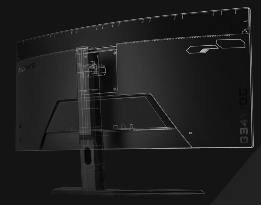 Màn hình Gigabyte G34WQC-EK-8