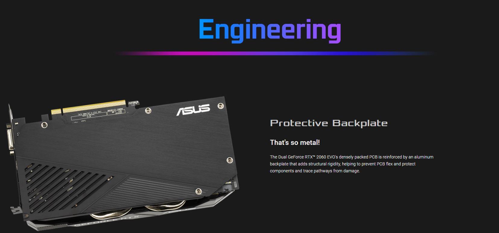 Card màn hình Asus DUAL RTX 2060-6G EVO