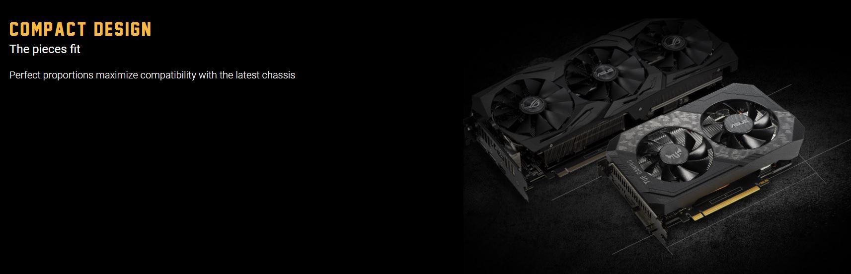 Card màn hình Asus TUF GTX 1650-4GD6-P-GAMING