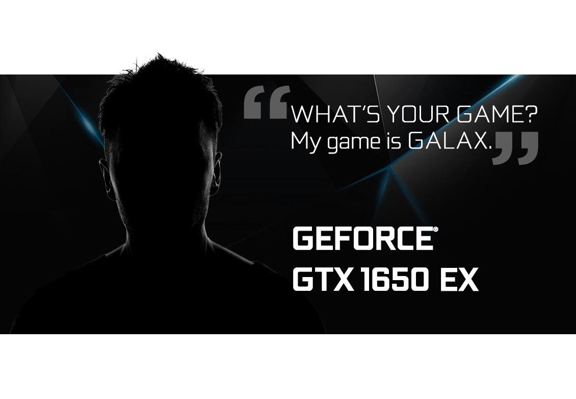 Card màn hình Galax GTX 1650 EX (1 Click OC)