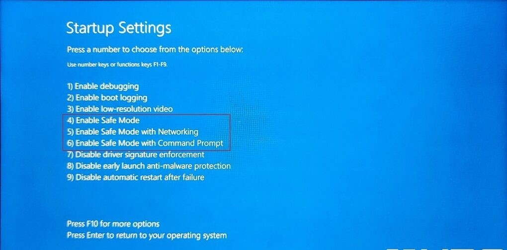 có 3 chế độ an toàn trong windows 11