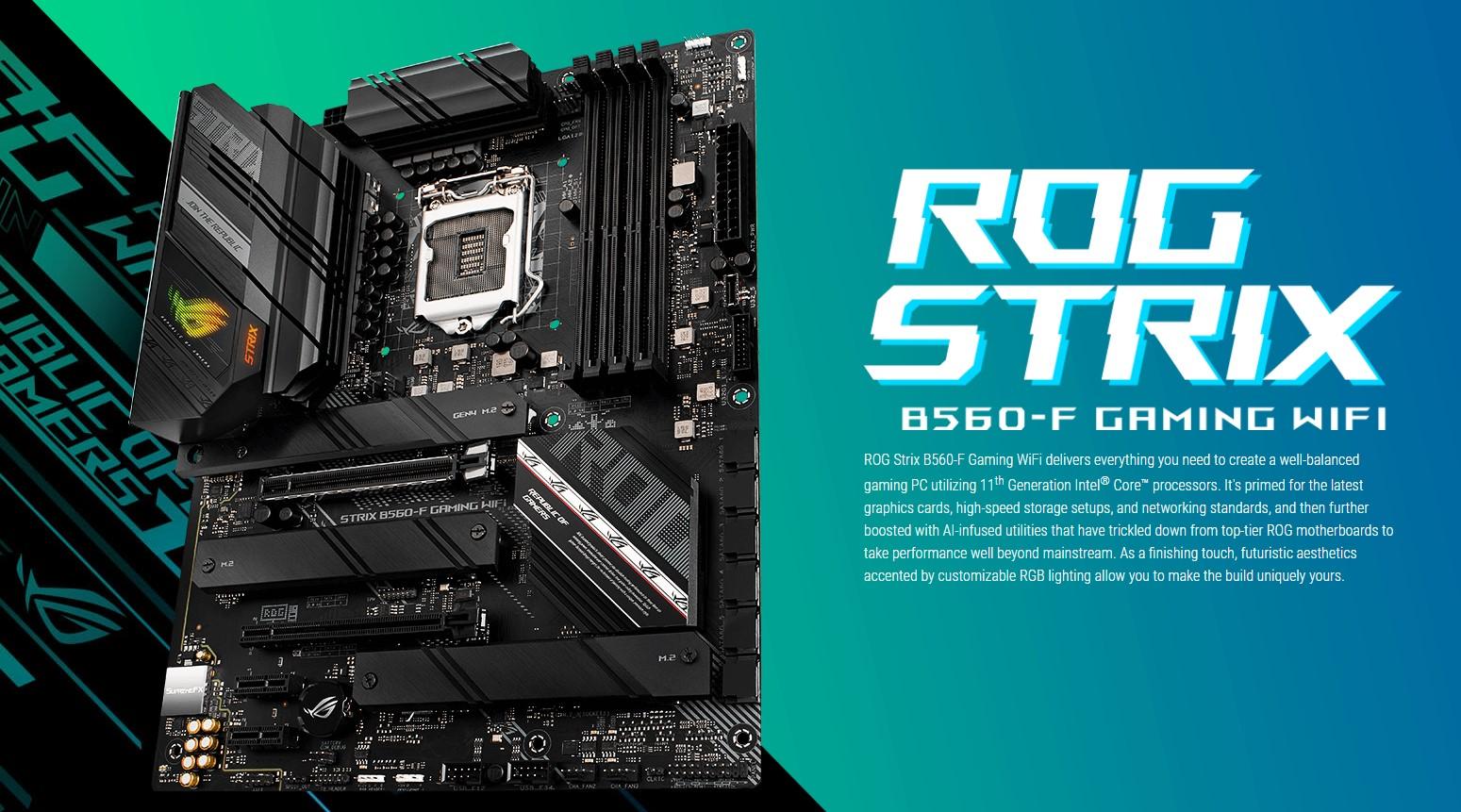 Mainboard ASUS ROG STRIX B560-F GAMING
