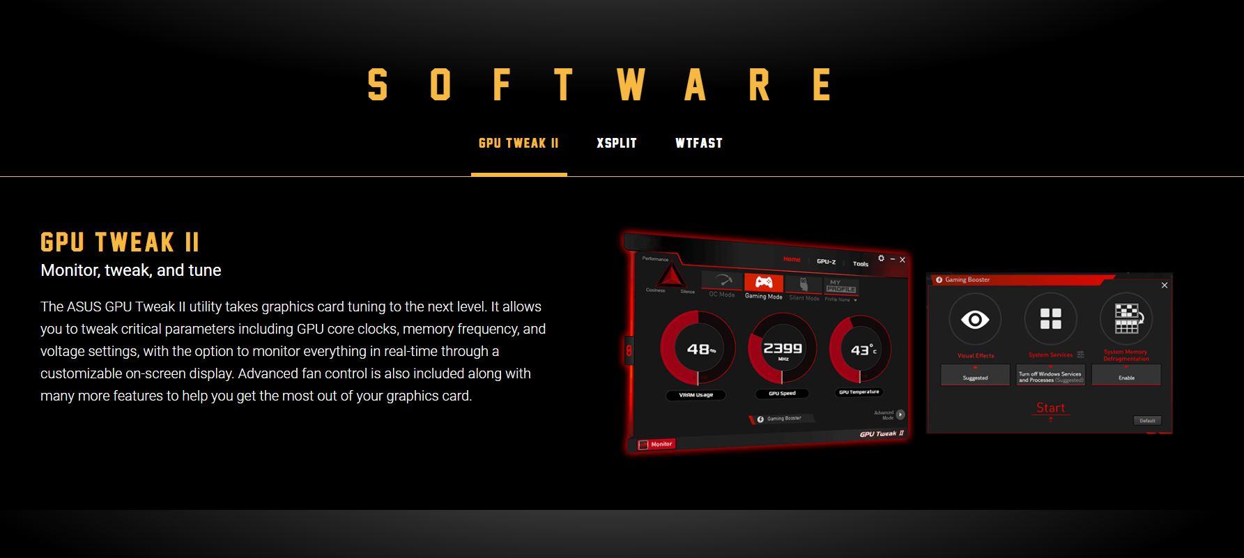 Card màn hình Asus TUF GTX 1650-4G GAMING
