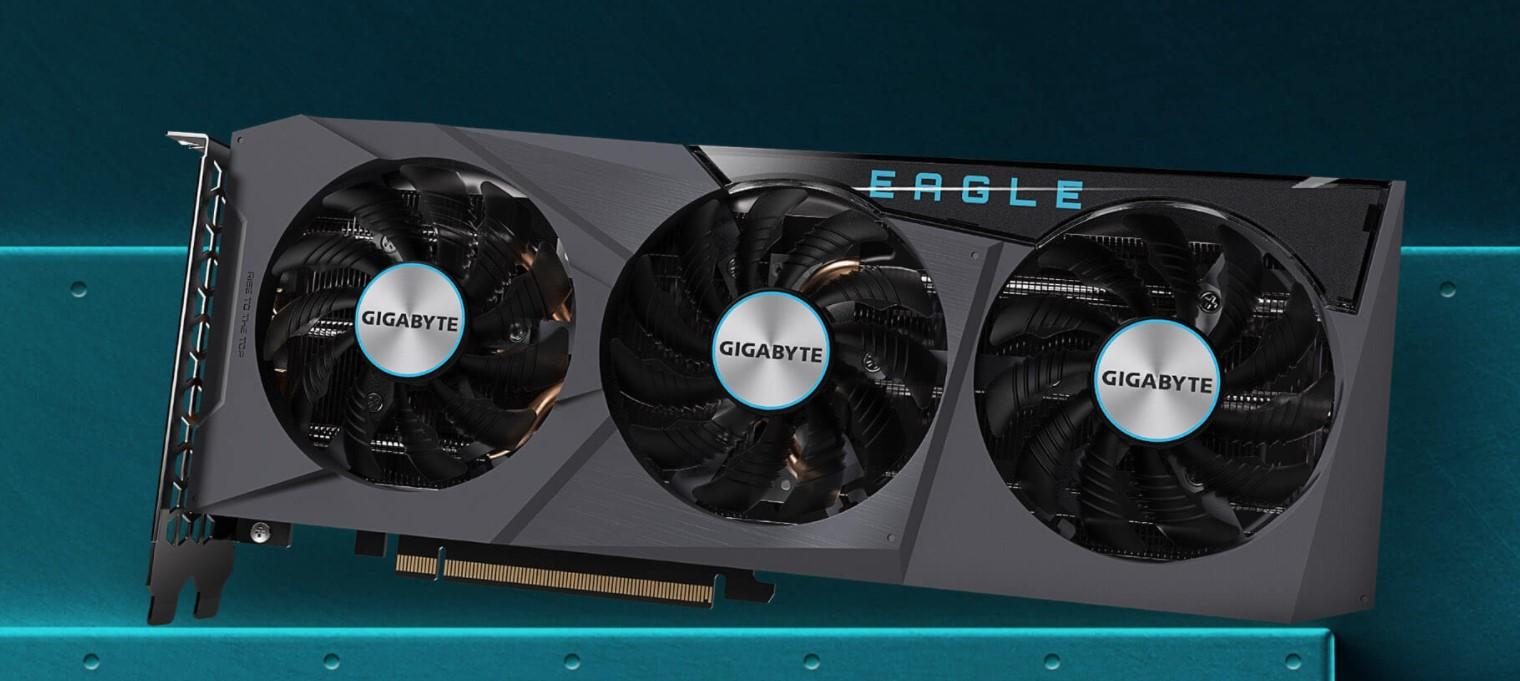 Card màn hình Gigabyte RX 6700 XT EAGLE