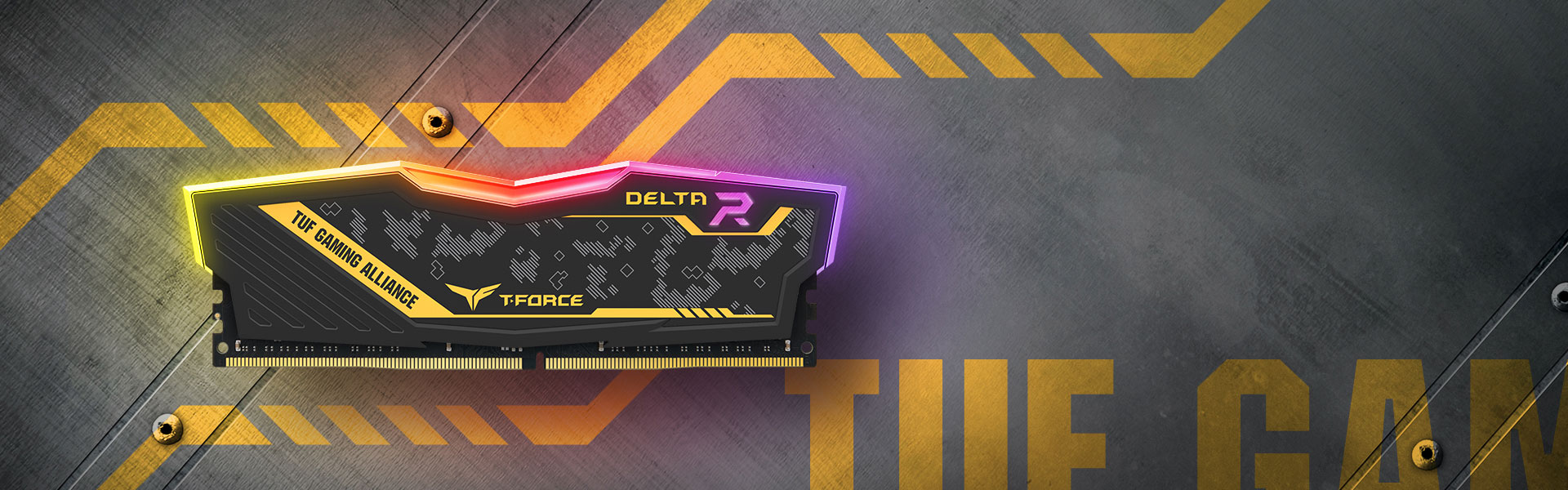 T-Force Delta TUF Gaming Alliance