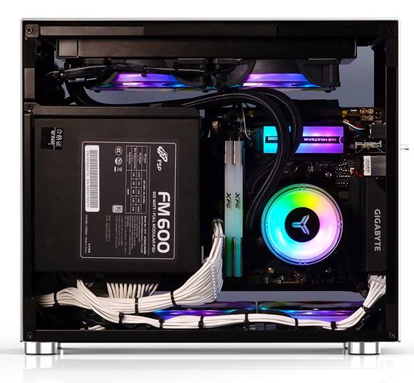 Case Jonsbo V10-G  Silver (Mini Tower/Màu Bạc) giới thiệu