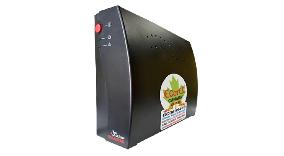 Bộ lưu điện UPS Santak 1000VA/600W (TG 1000)