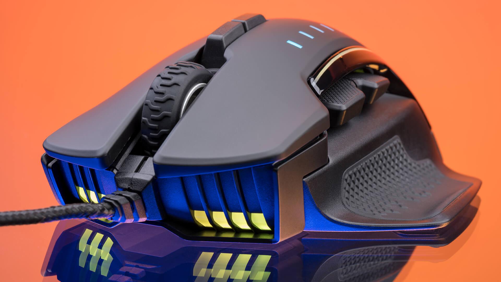 Chuột chơi game Corsair Glaive PRO RGB Black