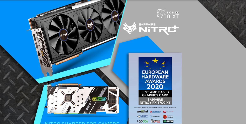 Card màn hình SAPPHIRE NITRO+ RX 5700 XT