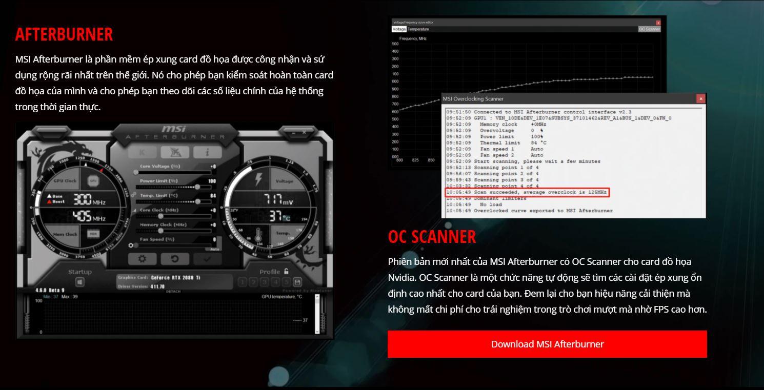 Card màn hình MSI GTX 1650 AERO ITX-4G