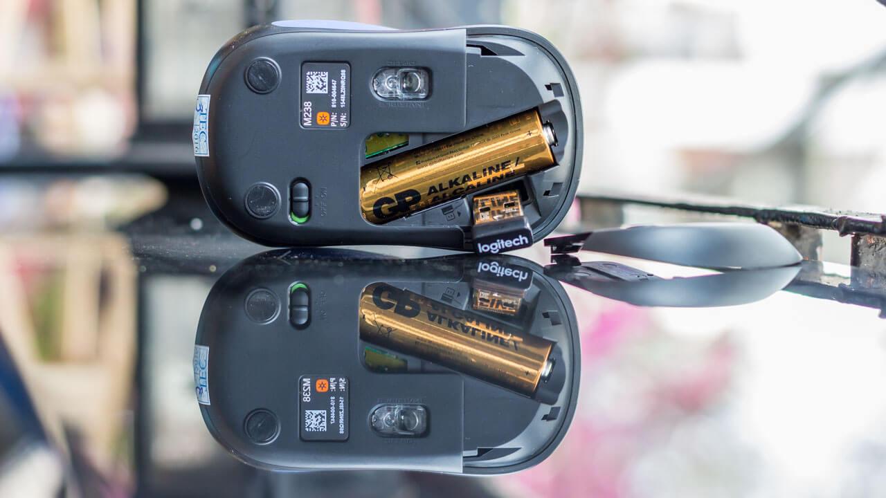 Chuột không dây Logitech M238 Wireless