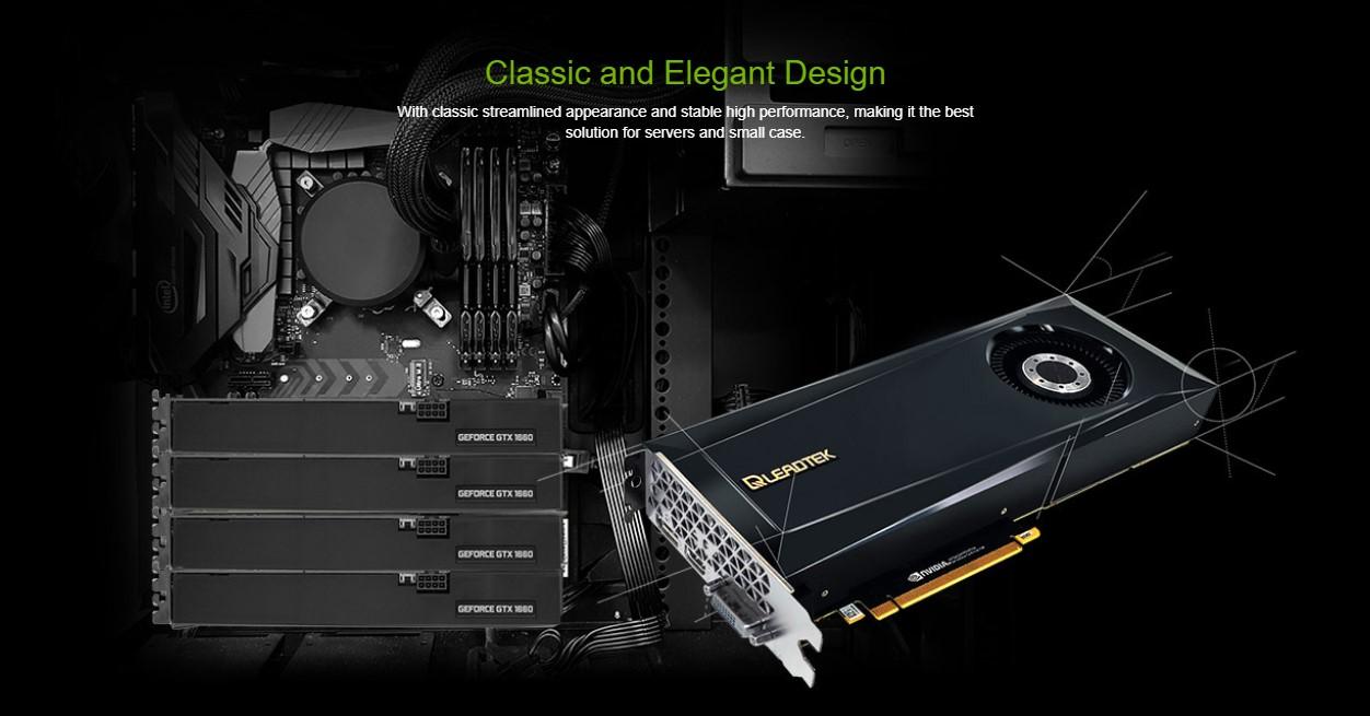 Card màn hình LEADTEK GTX 1660 Super CLASSIC 6G