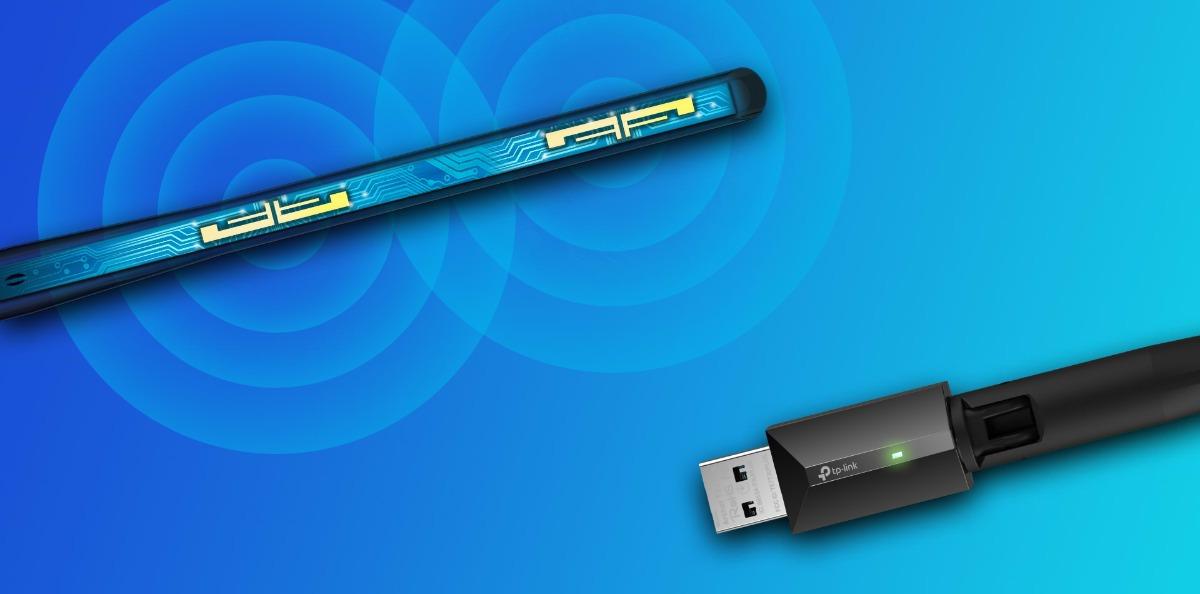 Card mạng không dây USB TP-Link Archer T3U Plus AC1300 1