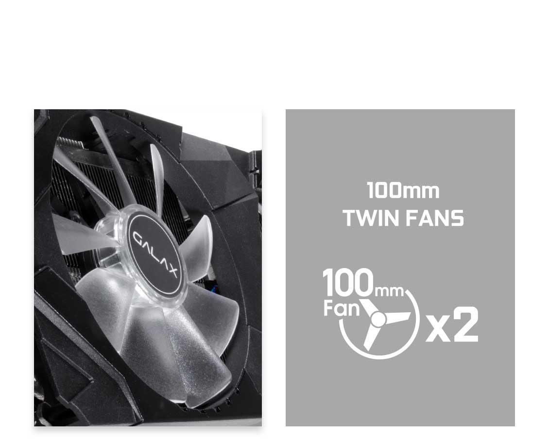 Hệ thống quạt đôi củaRTX 2060