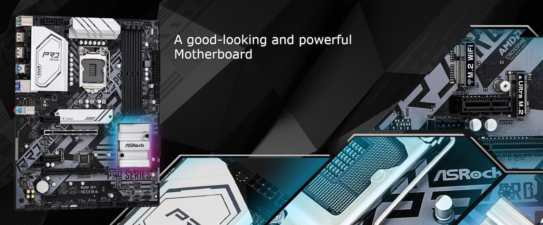 Mainboard ASROCK Z590 PRO4