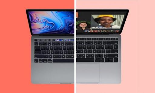Bàn phím và chuột của MacBook Air 2020 với MacBook Air 2019
