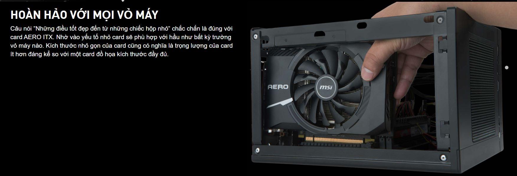 Card màn hình MSI GT 1030 AERO ITX OC