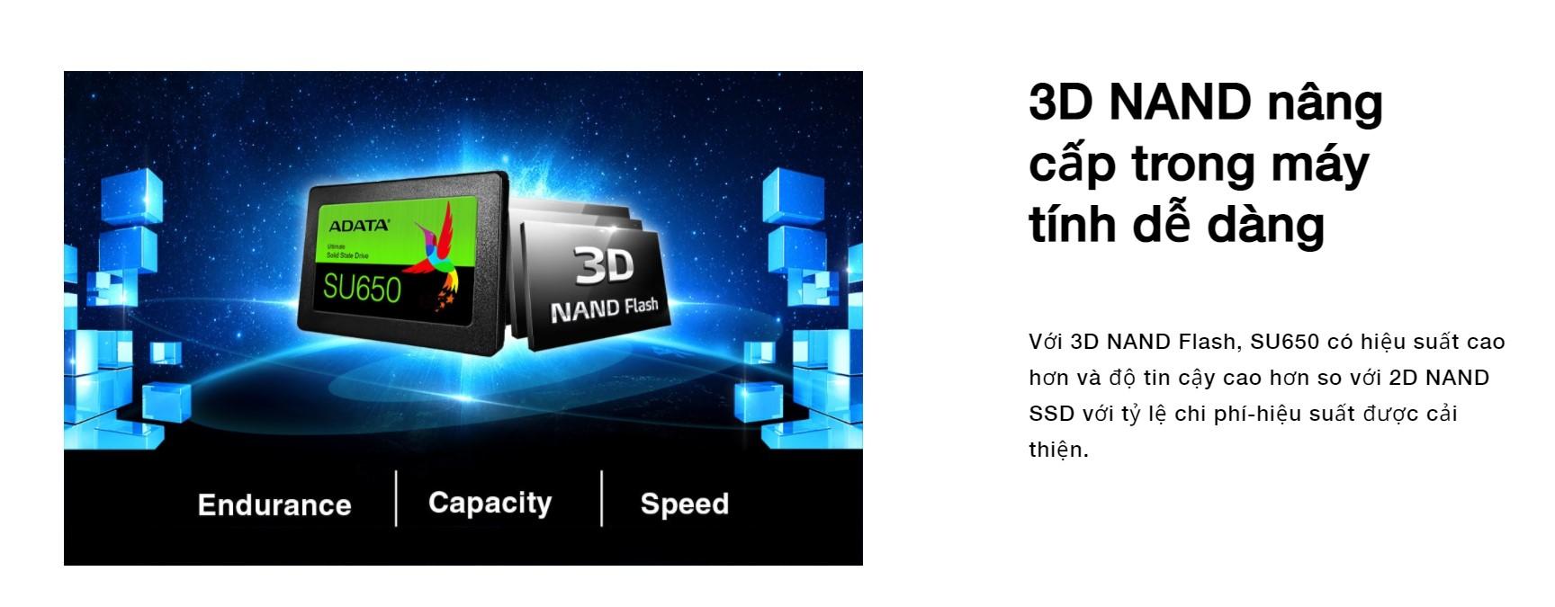 SSD Adata SU650 480GB SATA3 2.5 inch