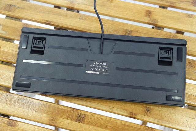 Bàn phím cơ E-Dra EK387 (USB/LED Rainbow/Huano Blue sw) 2