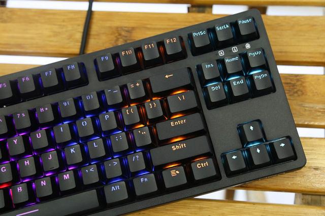 Bàn phím cơ E-Dra EK387 (USB/LED Rainbow/Huano Blue sw) 8