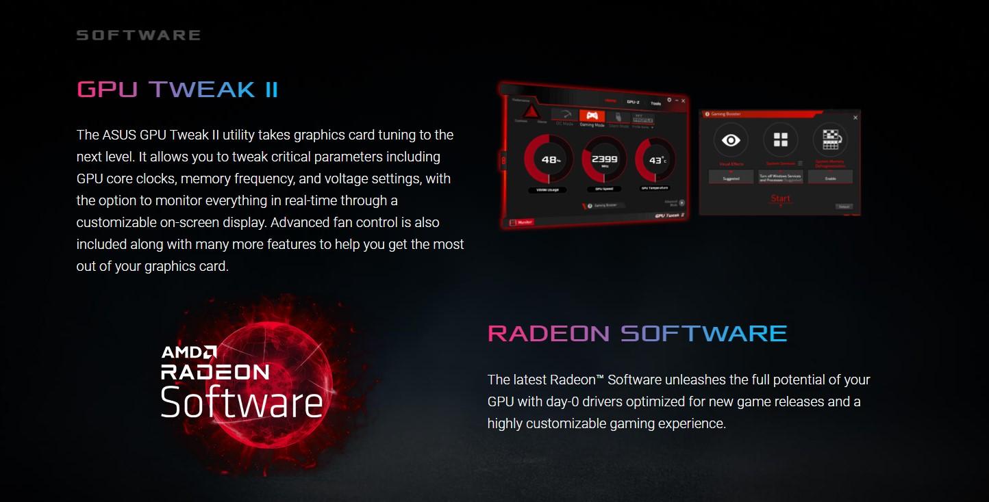 Card màn hình ASUS ROG STRIX RX 6700 XT-O12G-GAMING
