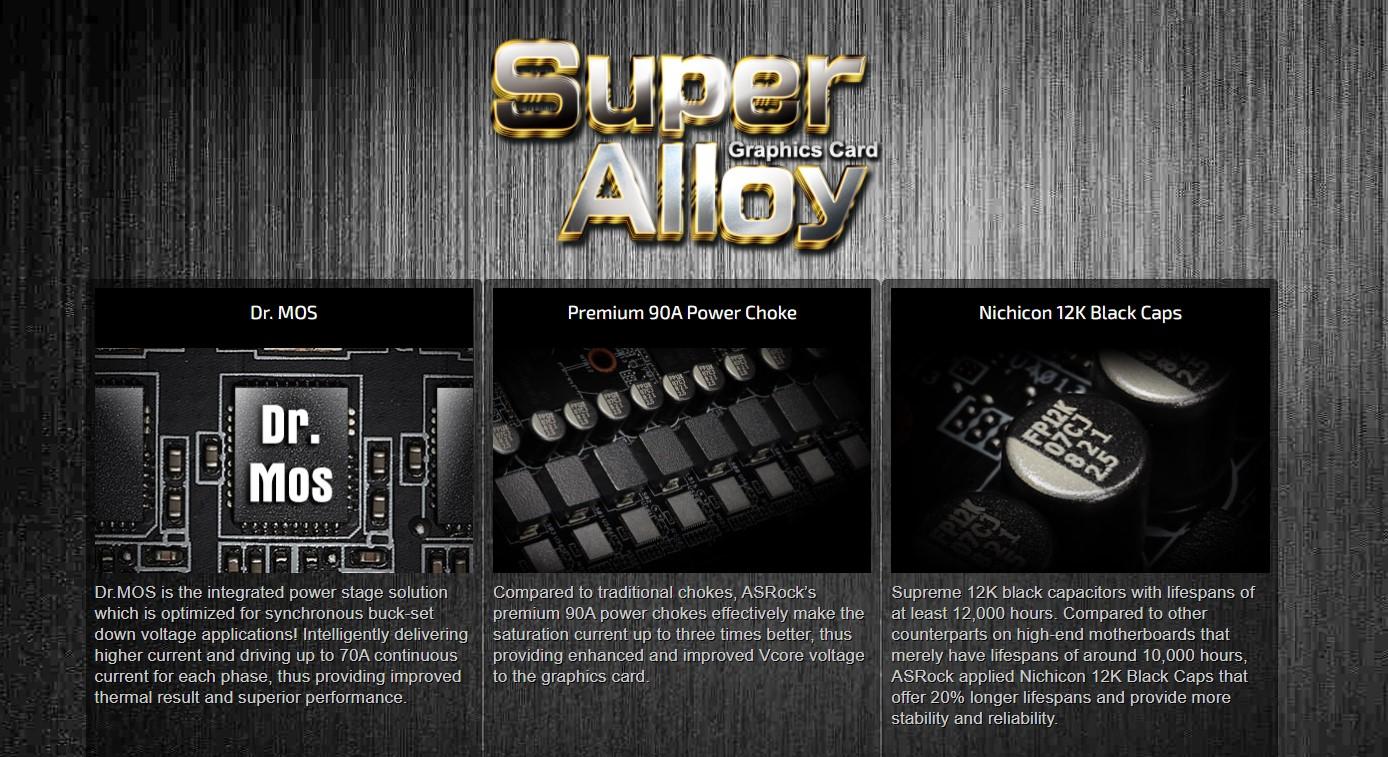 Card màn hình ASROCK RX 6900 XT Phantom Gaming D
