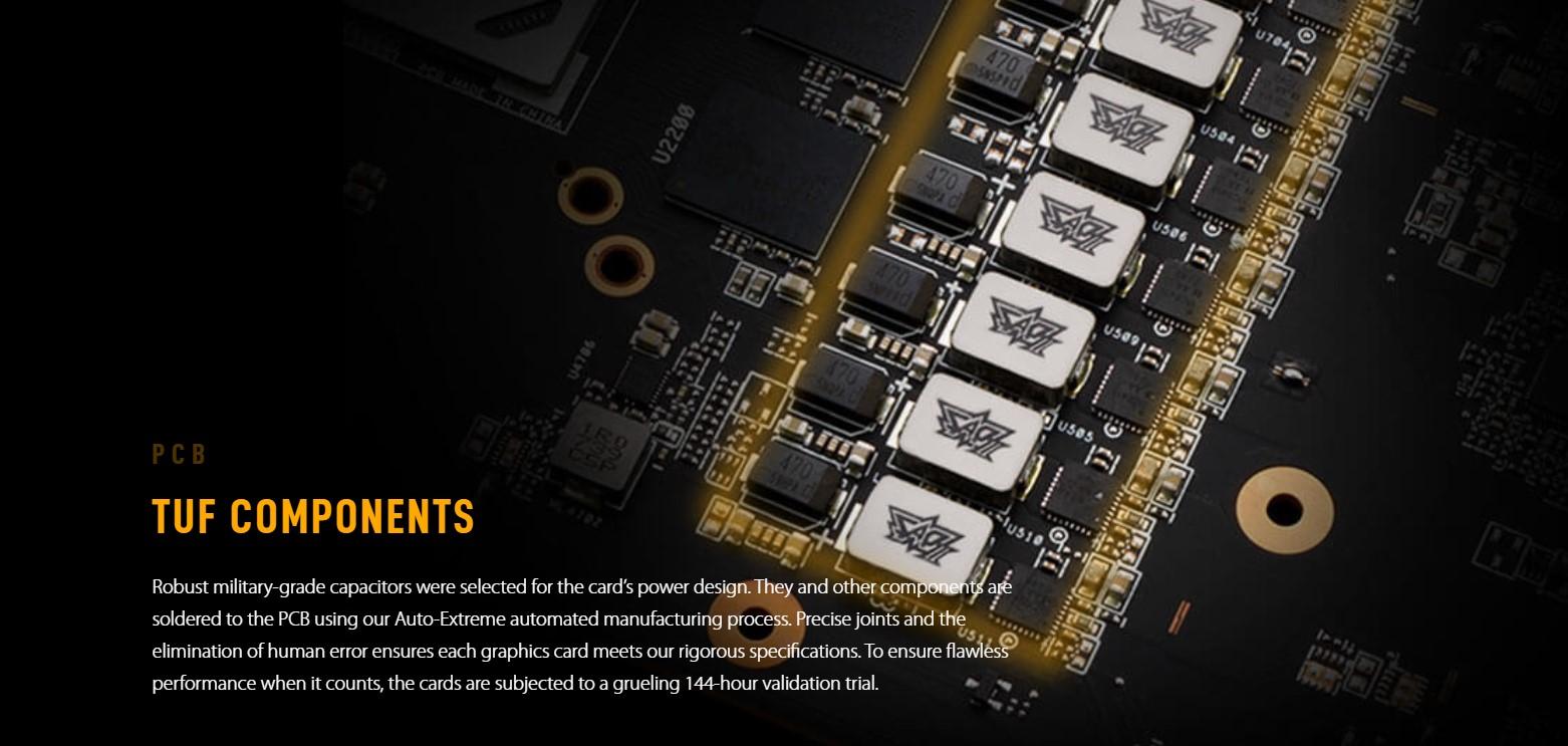 Card màn hình ASUS TUF RX 6700 XT