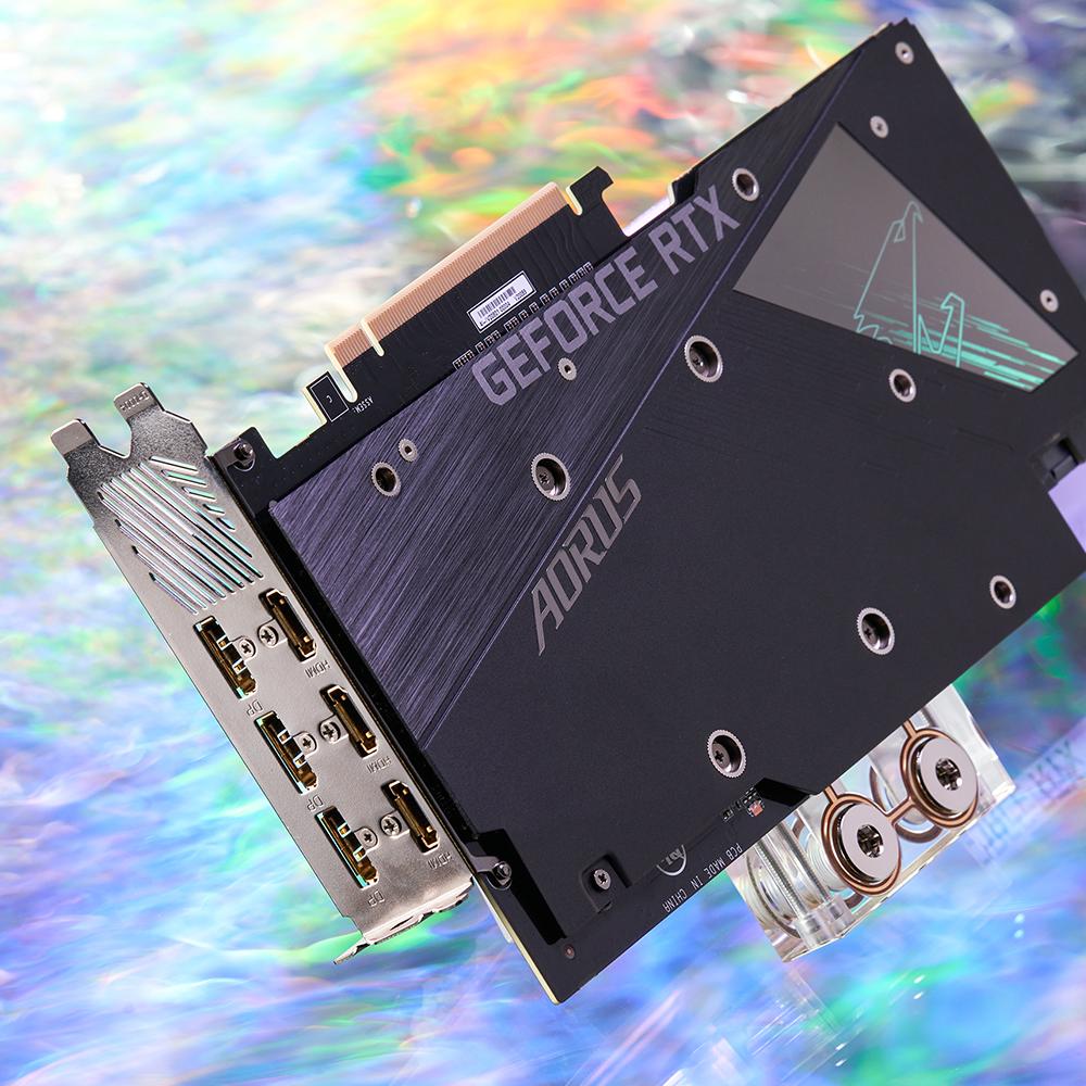 Card màn hình Gigabyte RTX 3080 AORUS XTREME WATERFORCE WB-10GD