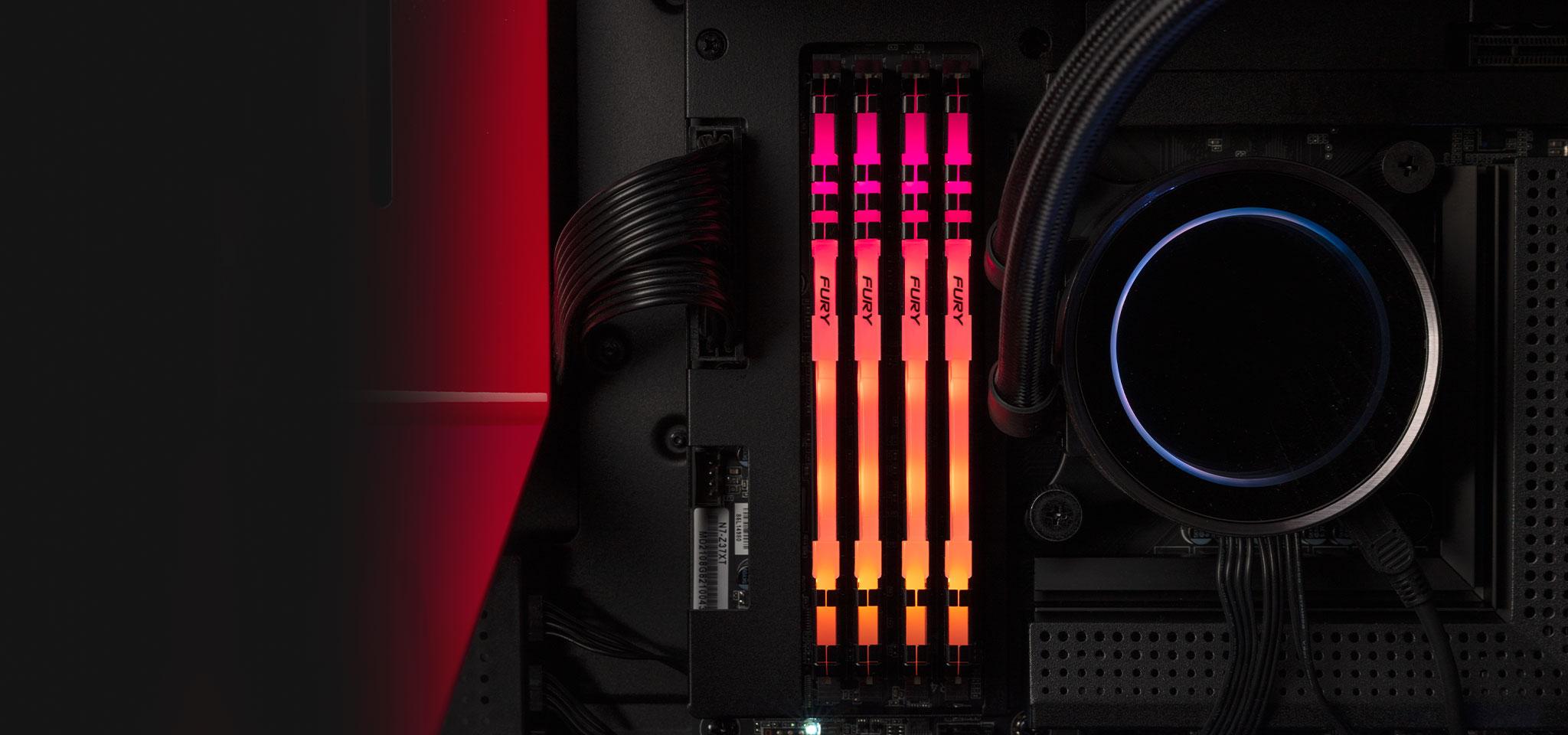 Ram Desktop Kingston Fury RGB