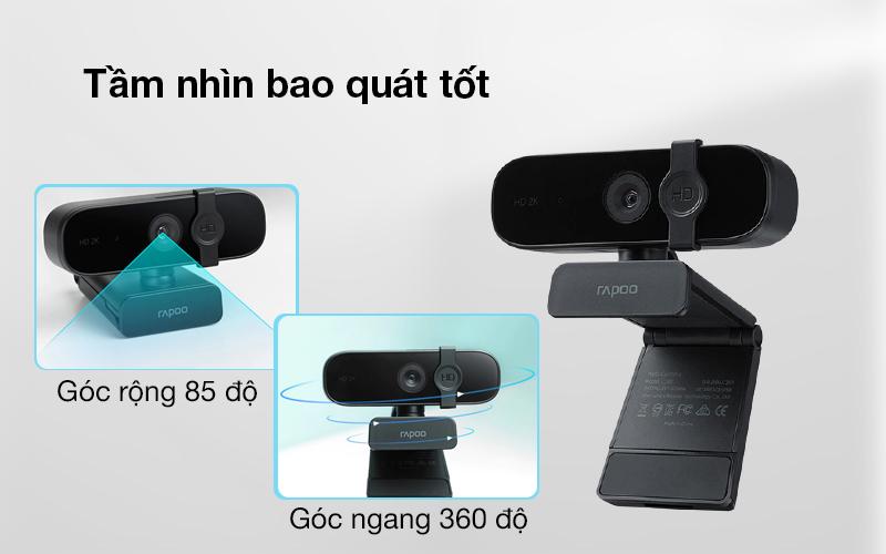 Rapoo C280 có tầm nhìn bao quát tốt