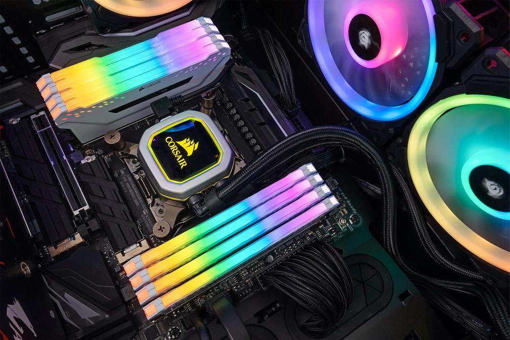 Ram Desktop Corsair Vengeance PRO RGB White