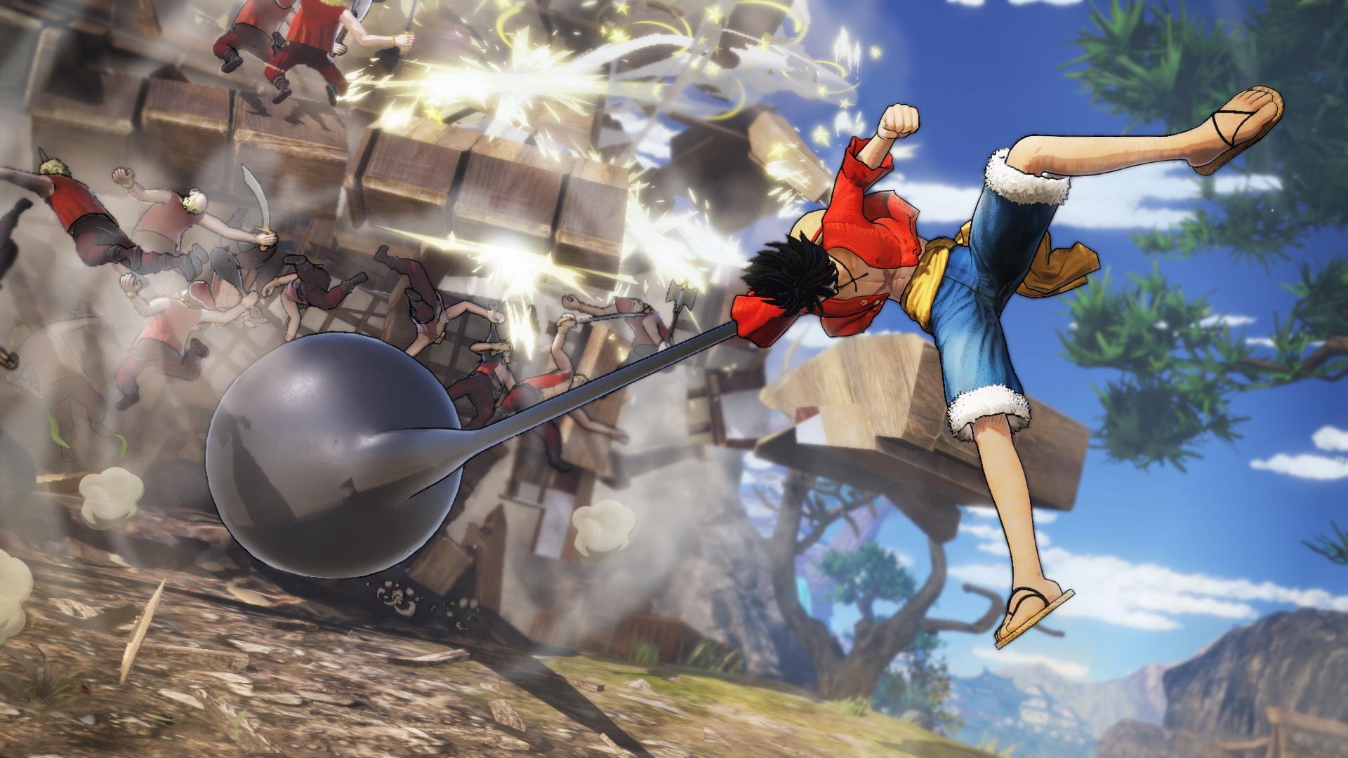 Game One Piece : Pirate Warriors 4 đại chiến hải tặc siêu hot