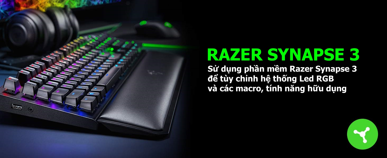 Keyboard Razer Blackwidow Elite - Mechanical Gaming