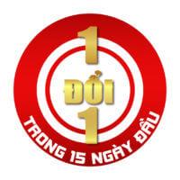 Chính sách Hanoicomputer 1 đổi 1 trong 15 ngày đầu